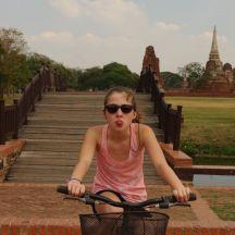 les temples à vélo !