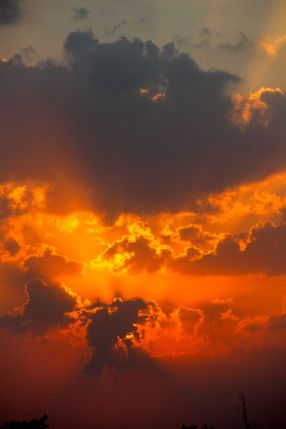 Il est pas sympa ce coucher de soleil ?