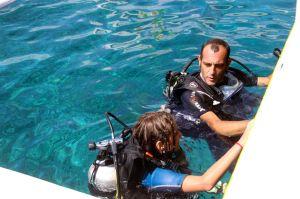 Ma première plongée !